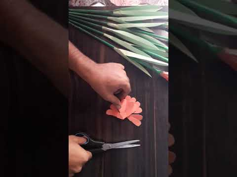 Diy paper craft/ how to make beautiful paper flowers