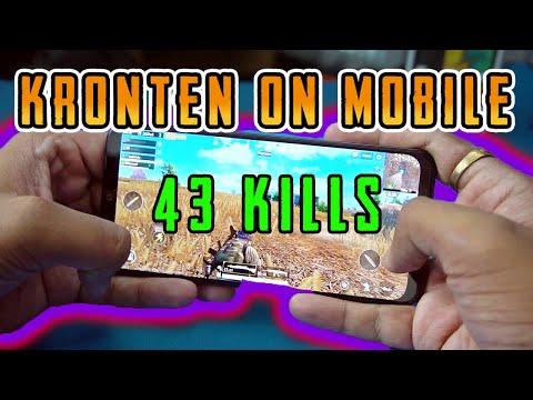 PUBG MOBILE  | 43 KILLS IN ONE GAME | KRONTEN GAMING ON MOBILE RUSH GAMEPLAY