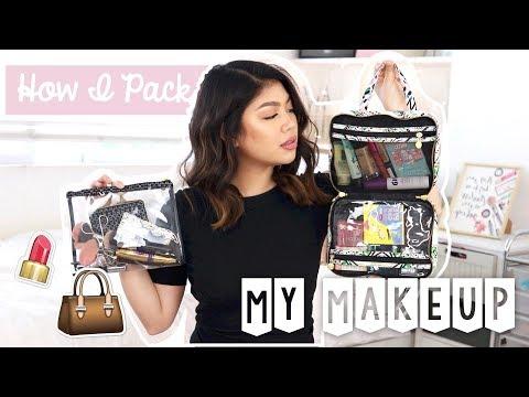 What's In My Travel Makeup Kit | Janina Vela