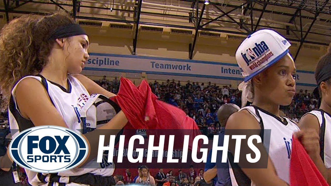 Central Girls vs Europe Girls   JR NBA CHAMPIONSHIPS