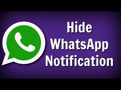 How to Hide WhatsApp Notification Easily - सबसे आसान तरीका