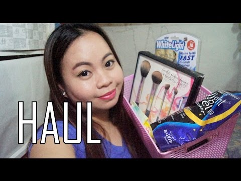 March 2016 Haul Lazada Drug Store Products Iwhite Korea Bvlgari