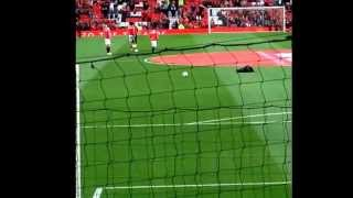 Manchester United vs valencia van gall first home game