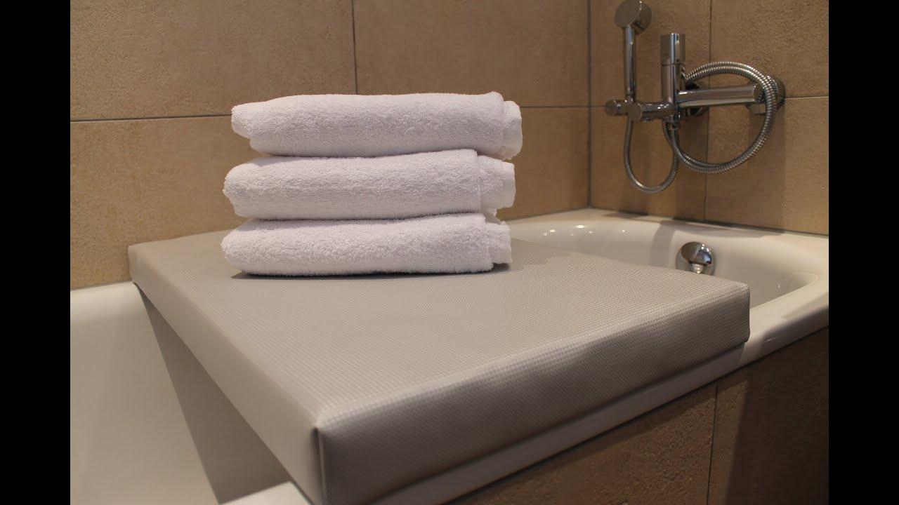 badewannenauflage badewannenabdeckung badewannenbr cke und mehr youtube. Black Bedroom Furniture Sets. Home Design Ideas