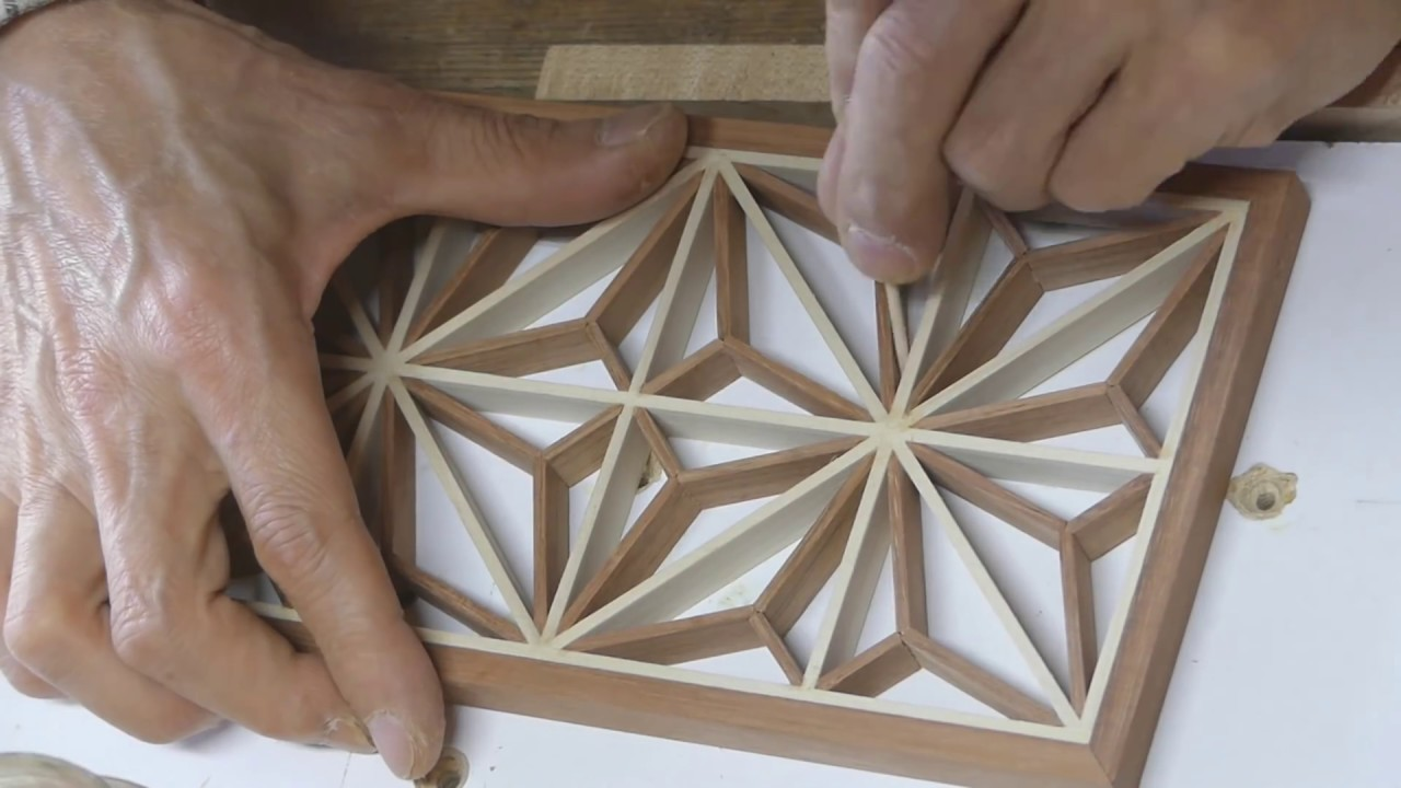 Make A Kumiko Pattern Youtube