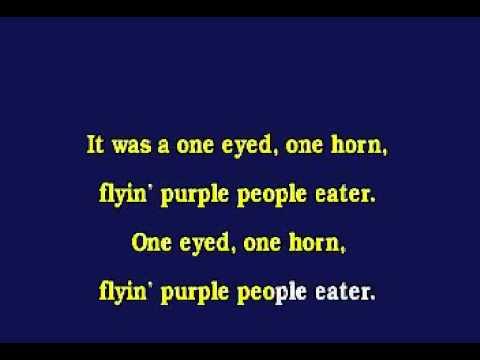 Jv0008 08   Wooley, Sheb   Purple People Eater [karaoke]