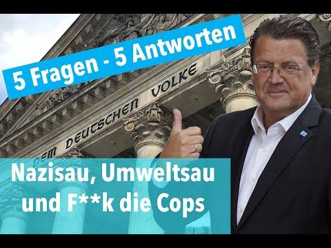 Nazisau, Umweltsau und F**k die Cops: 5 Fragen und 5 Antworten