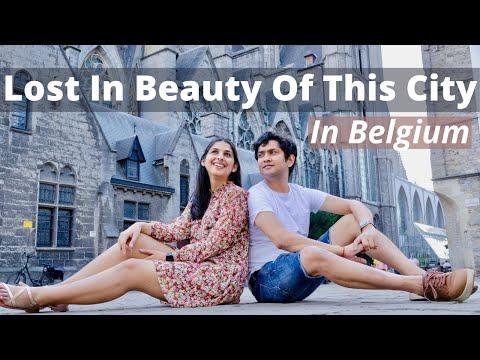 Traveling To Belgium After Lockdown | Exploring Beautiful City Ghent, Belgium's Pretty Cities Part 1