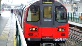 London Underground Jubilee Line 1996TS: Train 304 Stanmore to Wembley Park 30/12/13