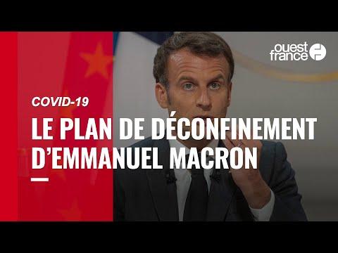 Voici les étapes du déconfinement annoncées par Emmanuel Macron