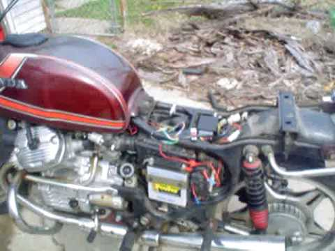 cdi change on cx500 - youtube, Wiring diagram