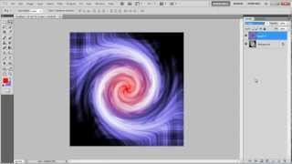 How to create a colorful tornado in Photoshop