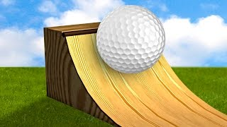 QUARTER PIPE GOLF! - GOLF IT