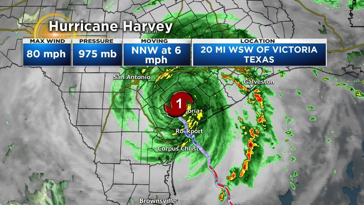 Hurricane Harvey Saturday Morning Update Youtube