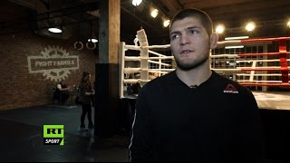 'Ferguson talks too much, that's why I want to break his face' - Khabib Nurmagomedov
