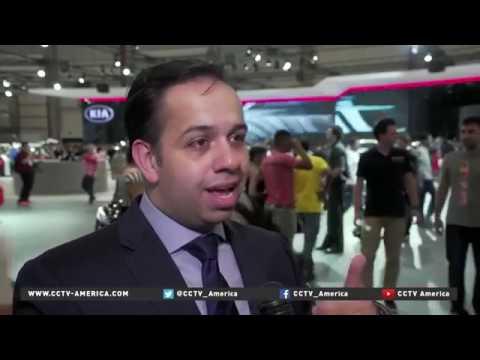 27144 economics fair CCTV America SAO PAULO CAR SHOW