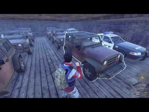 H1Z1 Hidden Car Park