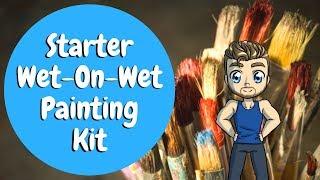 Starter Wet On Wet Painting Kit Guide
