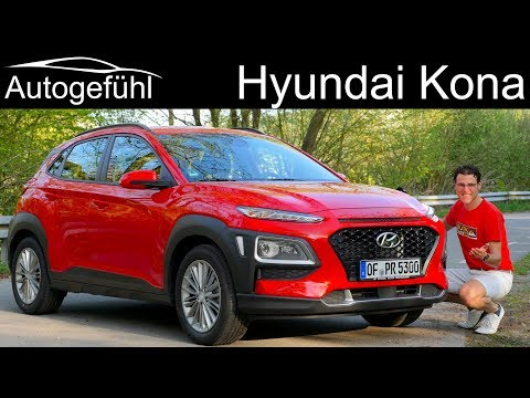 Hyundai Kona FULL REVIEW new SUV Kauai Autogefhl
