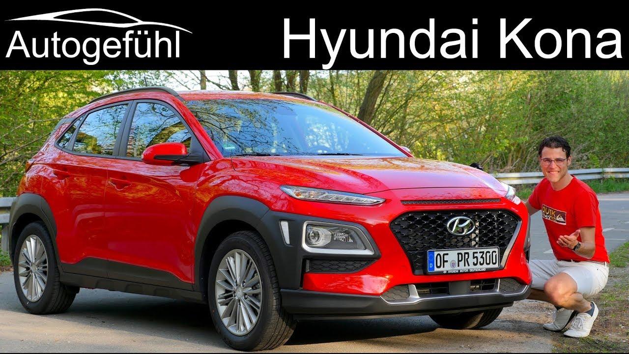 Hyundai Kona Full Review New Suv Kauai Autogefühl