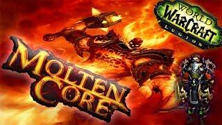 WoW Raid Solo: MoĮten Core | Level 110 Rogue