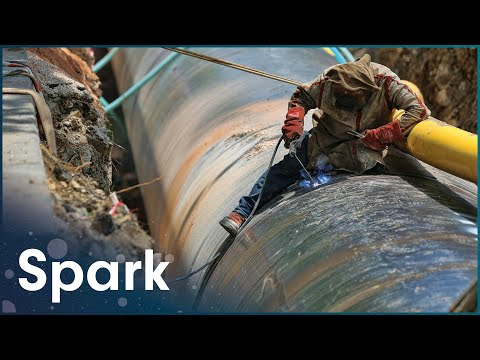 Constructing Mammoth Underwater Gas Pipeline | Building The Biggest | Spark