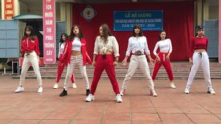 Sugar Free + Feeling + Black Dress + Fake Love - Dance Cover By RAINBOW from VIETNAM