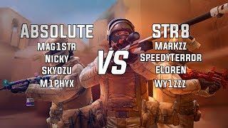 Absolute VS STR8   Claunch   Standoff 2