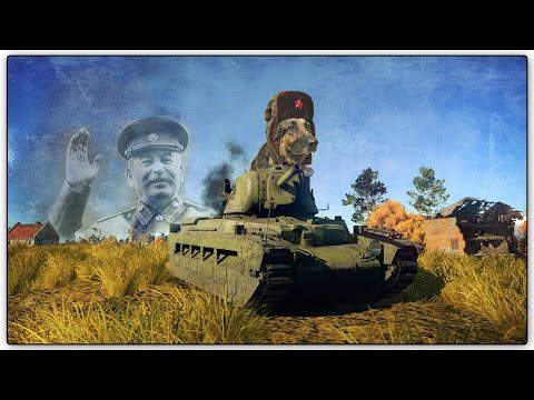TOO STRONK!!! - Soviet Matilda (War Thunder Gameplay)