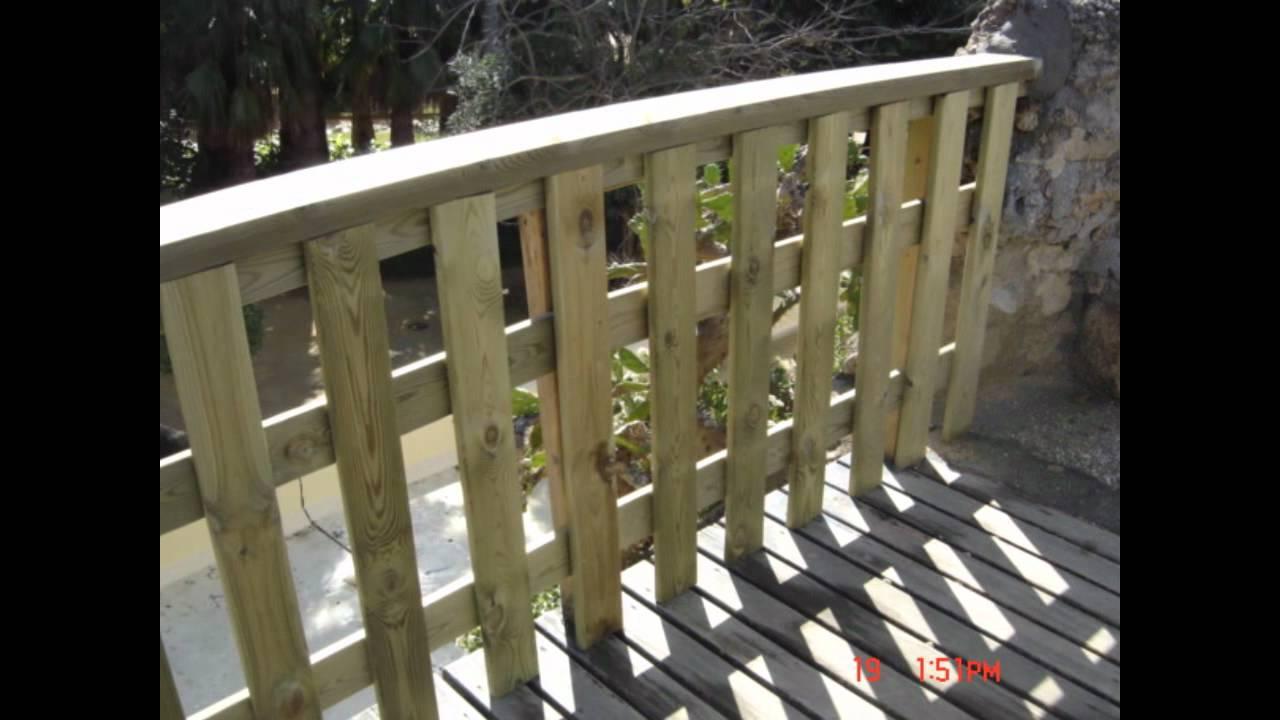 Vallas y youtube for Como hacer una valla con palets