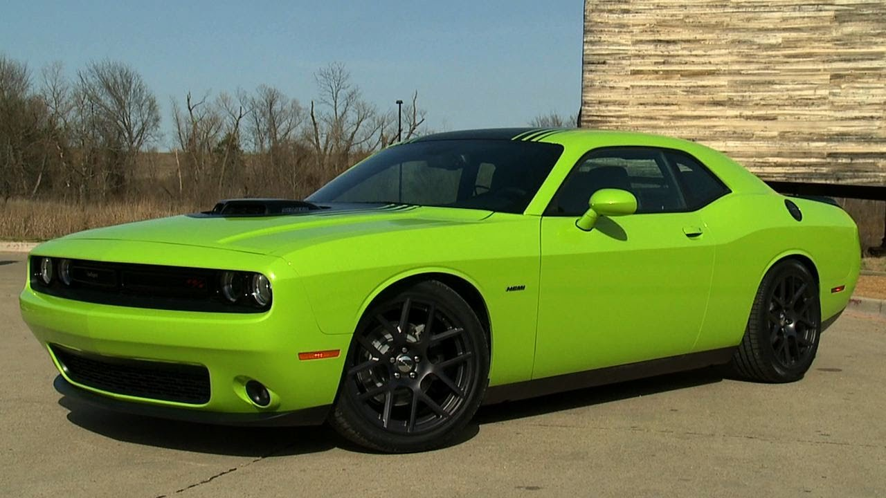 2015 Dodge Challenger R T Youtube