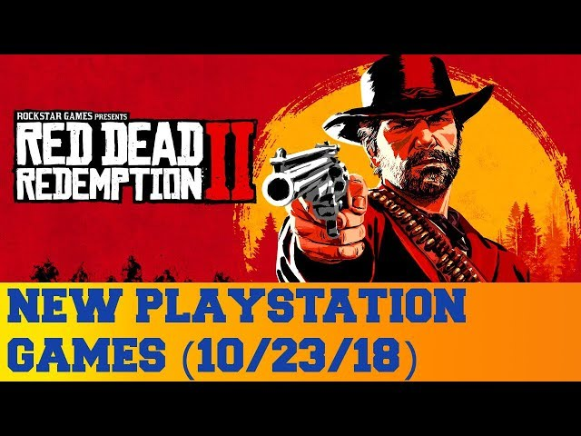 New PlayStation Games for October 23rd 2018
