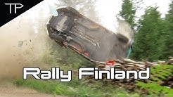 WRC Neste Rally Finland 2019 - Saturday Päijälä highlights