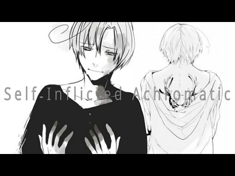 HETALIA DUET- Self-Inflicted Achromatic (Canada and Romano) [English Subs]
