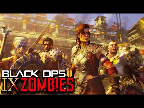 BLACK OPS 4 ZOMBIES: