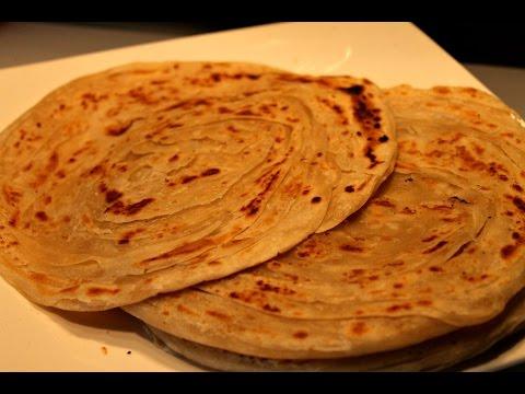 Kerala Parotta - how to make kerala parotta-Easy Way