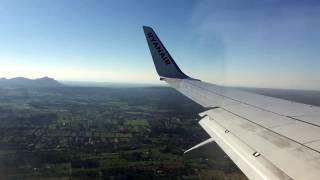 Landing at Palma de Mallorca Airport (PMI) 21/2/17