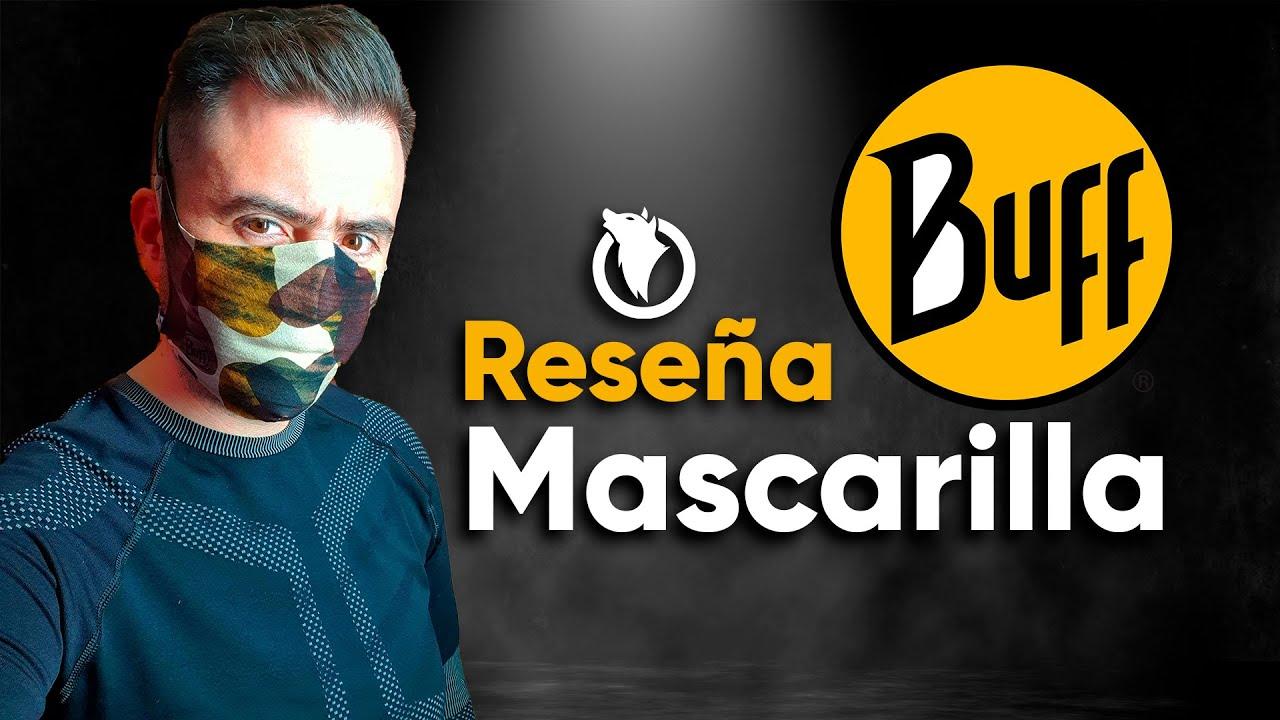 Reseña de la mascarilla de BUFF (filter mask)
