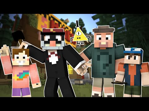 BEWARE THE JOURNALS! Gravity Falls Mod in Minecraft!