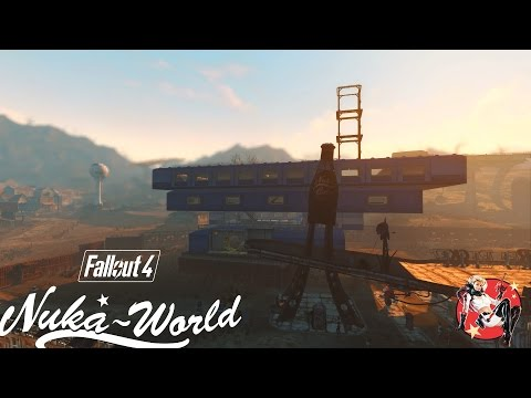 Nuka-World Red Rocket Settlement Build Redux