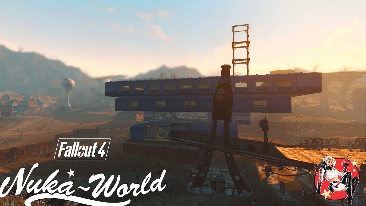 Steam Community :: Video :: Nuka-World Red Rocket Settlement Build Redux