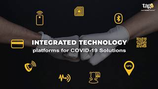 tag8 Smart Covid Solutions for Workspace | Real time People and Asset Visibility