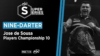 NINE-DARTER! Jose de Sousa strikes perfection at Players Championship 10