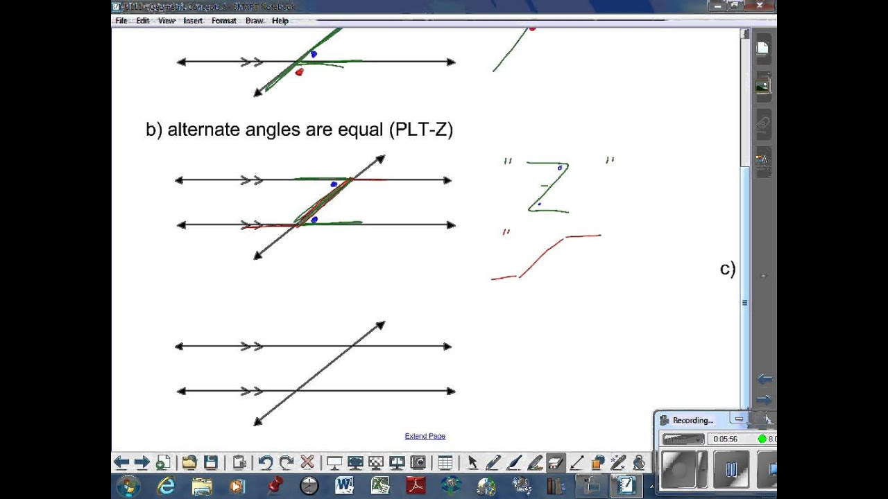 Basic Geometry Concepts (solutions, examples, definitions