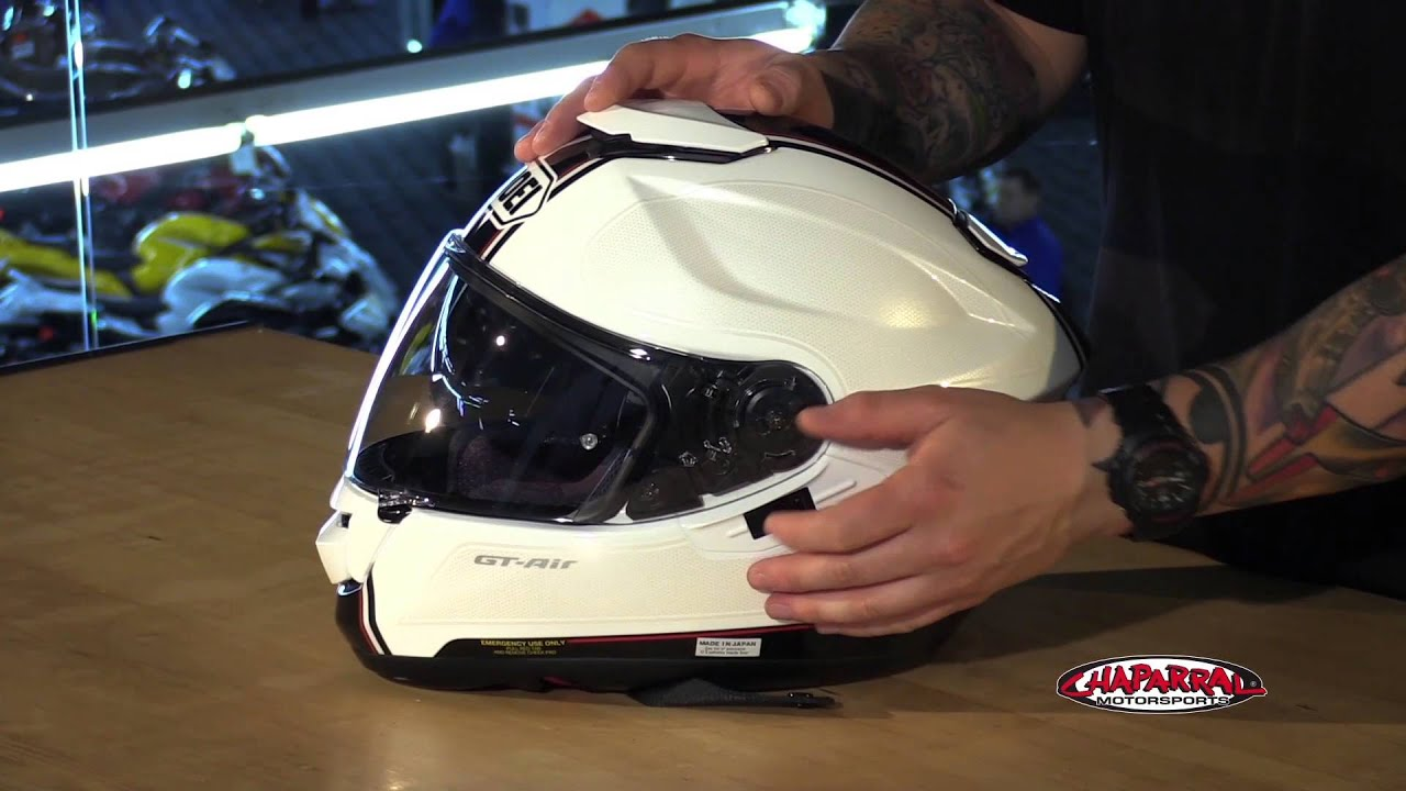 Shoei Gt Air Full Face Motorcycle Helmet Review Youtube