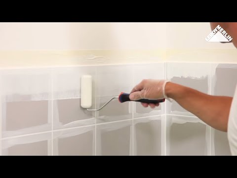 Cómo pintar azulejos |1| - LEROY MERLIN