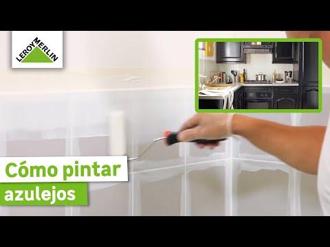 fotos de ideas de azulejos de bañera Cmo Pintar Azulejos Leroy Merlin YouTube