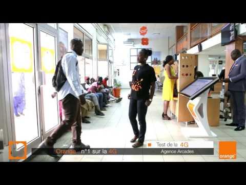 Test 4G : Amadou Diouf à l'agence des Arcades