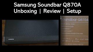 Samsung Q870A SoundBar | Dolby…