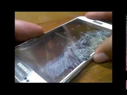 Замена разбитого стекла на Galaxy S6 Replacement Of Glass G920